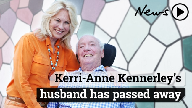 John Kennerley dead: Kerry-Anne Kennerley's husband has passed away
