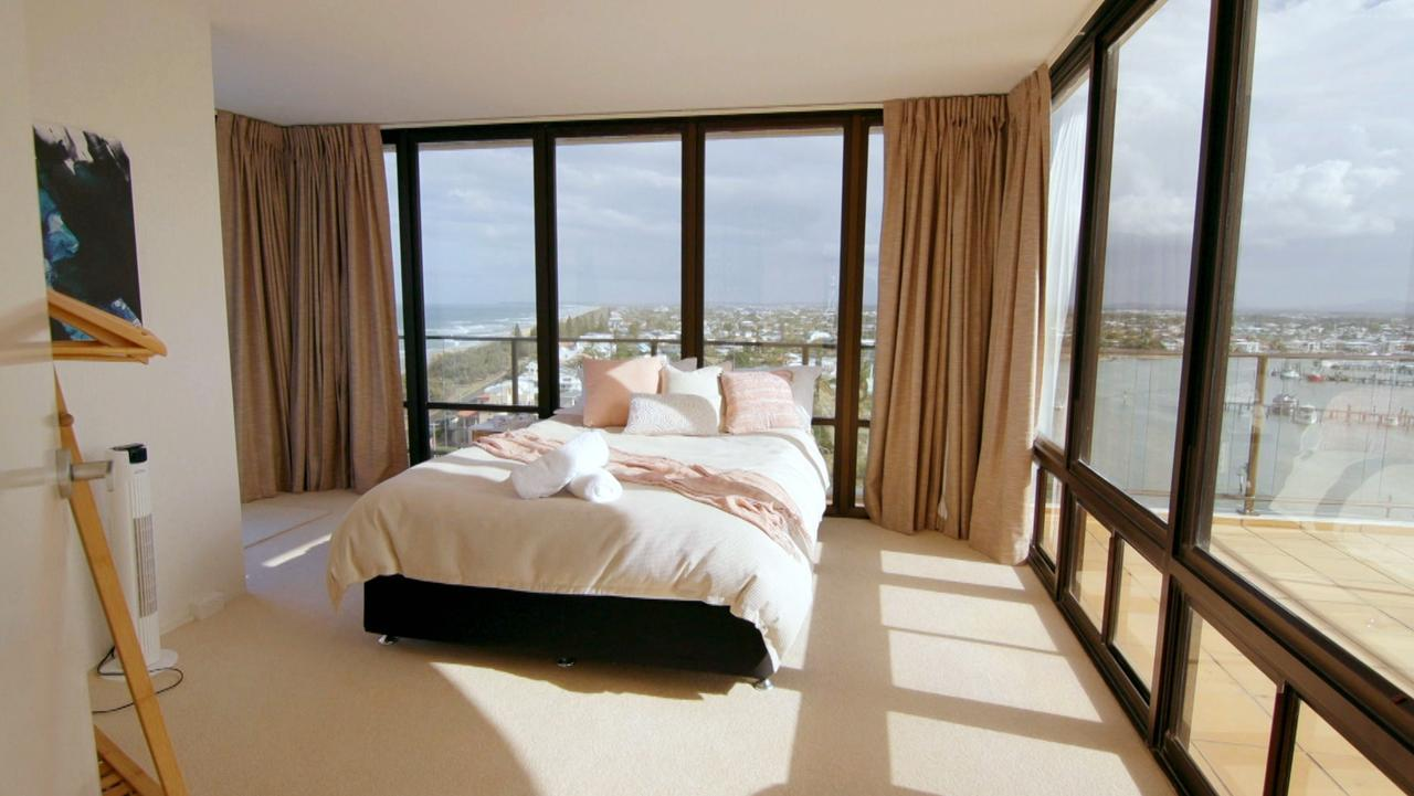 A comfy bed is a priority. Room from <i>Instant Hotel</i>.
