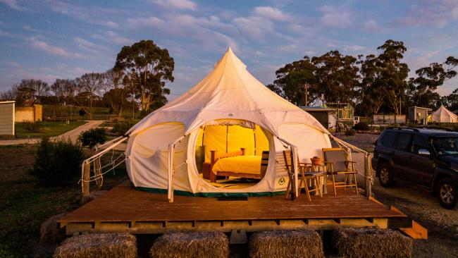 Bukirk Glamping, Clare Valley, South Adelaide.