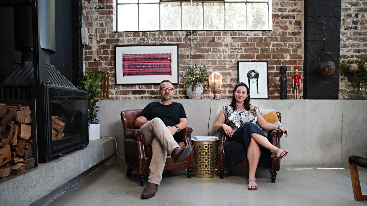 Joe and Natalie Sidoti are the masterminds behind the converted warehouse.