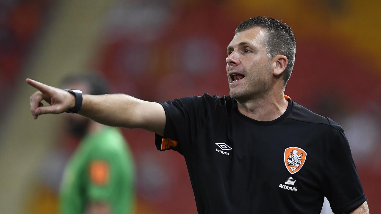Roar coach Darren Davies has made a decision regarding his future at the club.