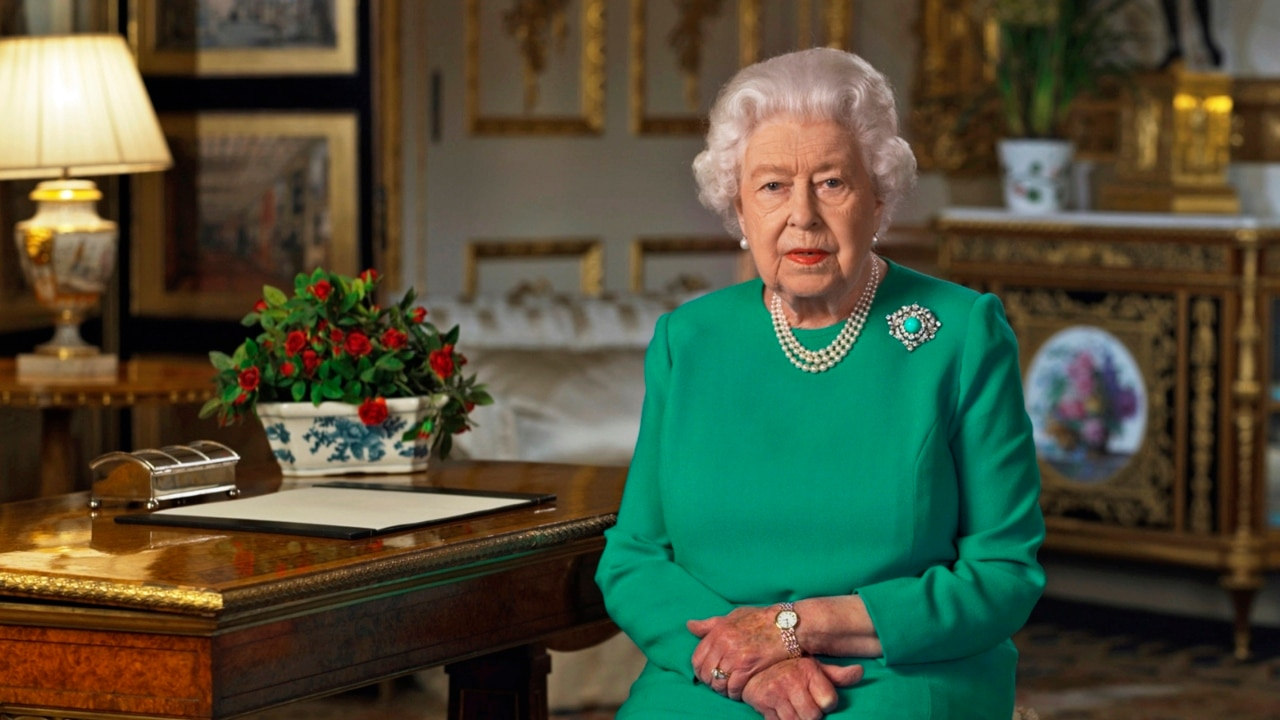 We will meet again: Queen delivers 'wartime spirit' address