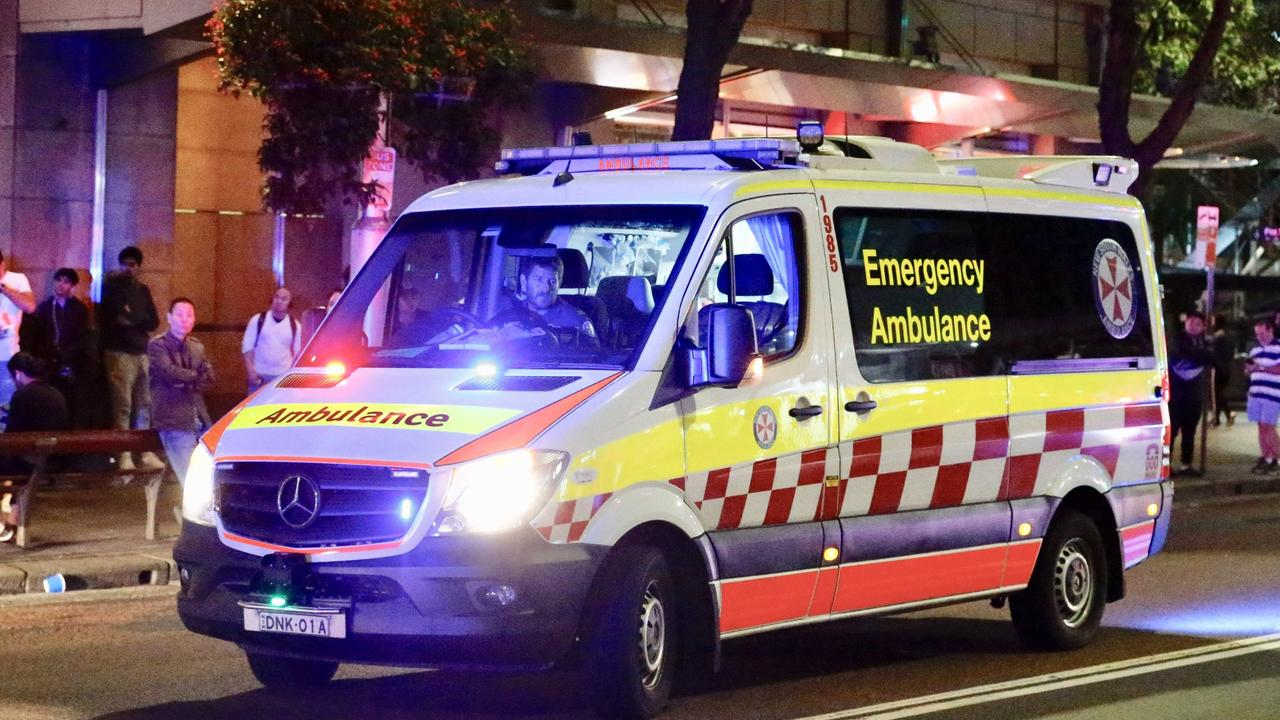 Three men have been charged for brawling in Sydney's CBD. Picture: Steve Tyson