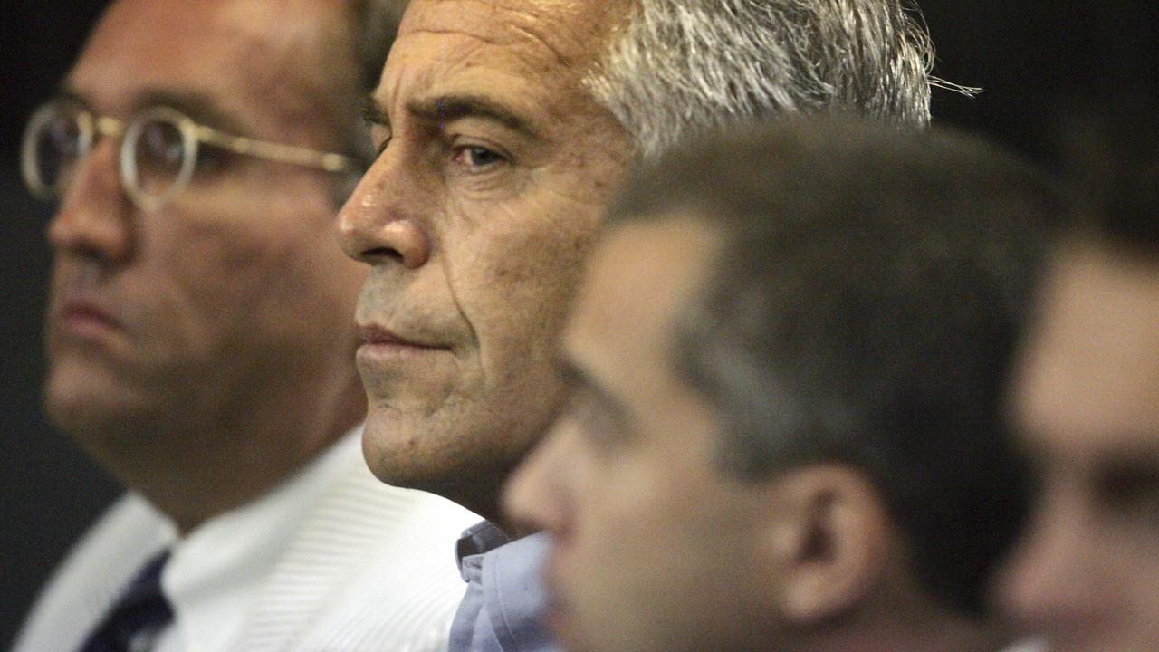 Epstein in court on July 30. Picture: AP