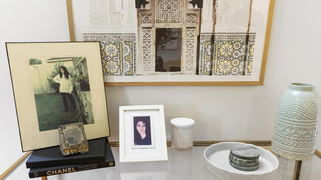 Memories of Natalie Russell are kept in the house.