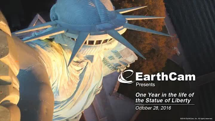 The Statue of Liberty Birthday Time-Lapse You Shouldn't Miss