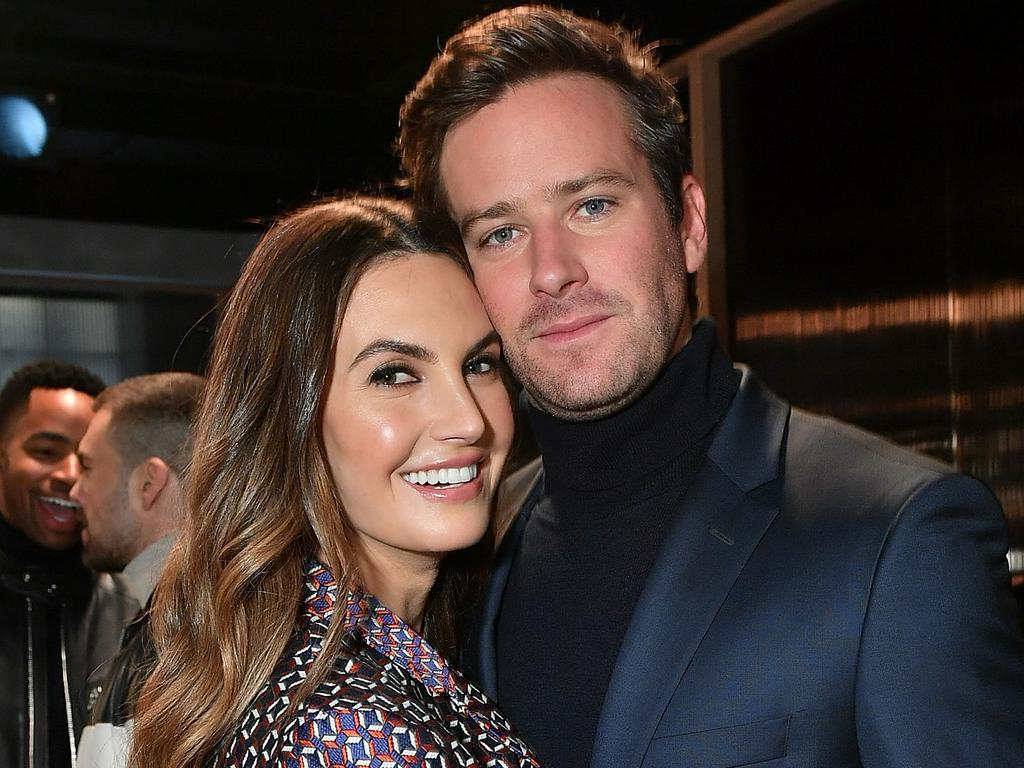 Armie Hammer is in the midst of a difficult divorce with Elizabeth Chambers. Picture: Mike Coppola/Getty Images