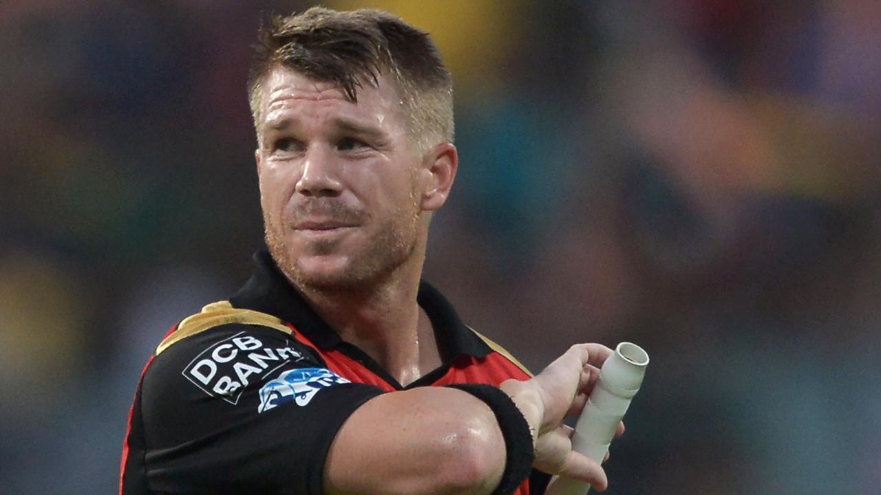 SunRisers Hyderabad have axed David Warner as captain. Photo: AFP