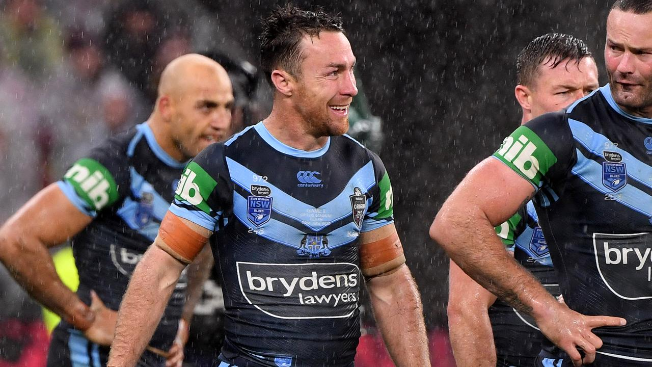 Blues player James Maloney starred in NSW's game two win.