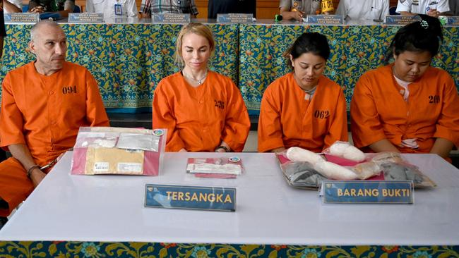 Russian beautician, Thai pair and French man accused of Bali drug smuggling