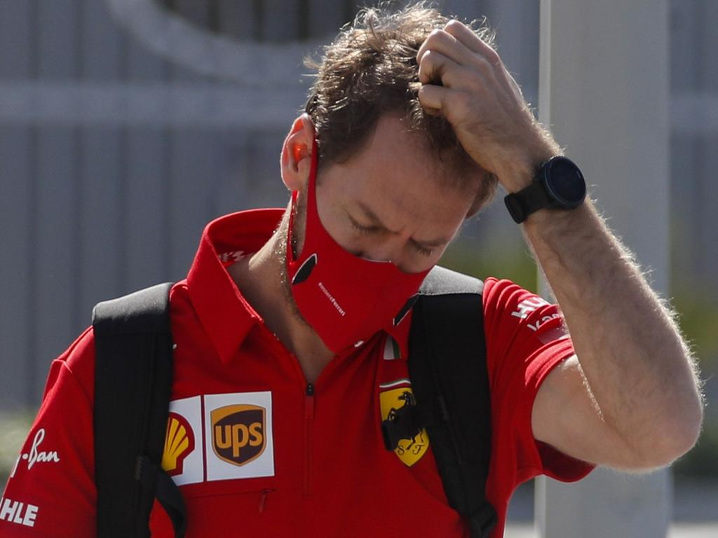 Vettel at the Abu Dhabi Grand Prix – will it be less frustrating with Aston Martin?