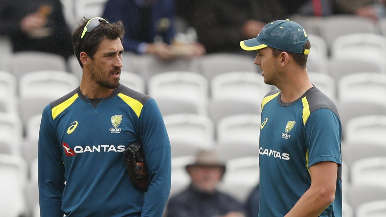 Mitchell Starc has missed out to Josh Hazlewood for the second Test.