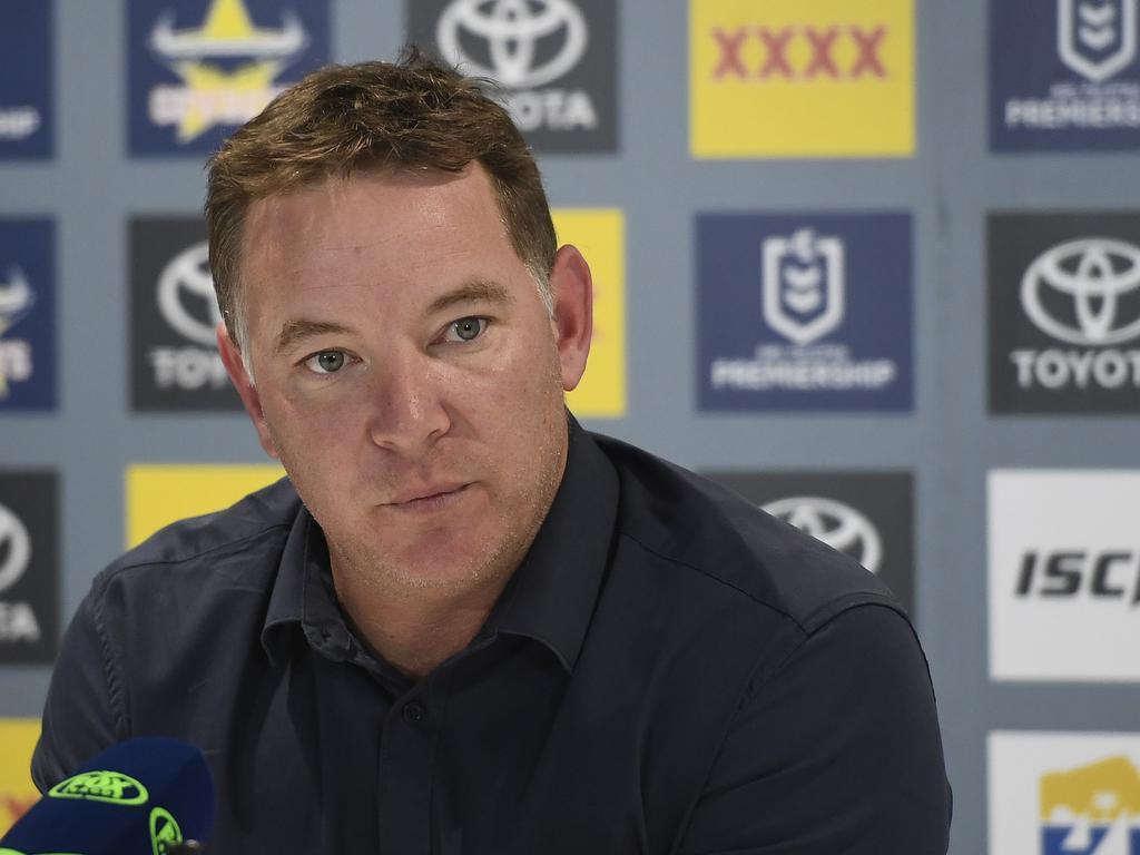 Adam O'Brien signed as Newcastle Knights head coach this year.