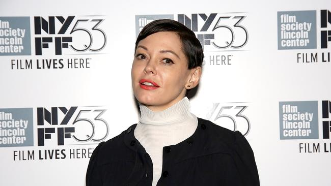 Rose McGowan joined the thousands of women on Twitter.