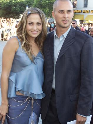 Jennifer Lopez married dancer Cris Judd in 2001. They split less than a year later. Picture: Kevin Winter/Getty Images