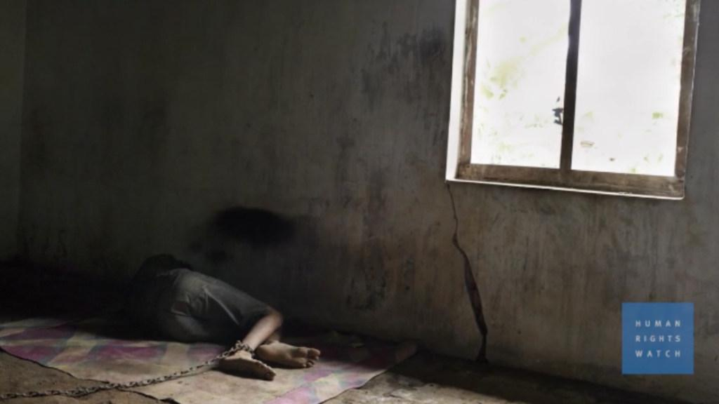Indonesia: Treating Mental Health With Shackles