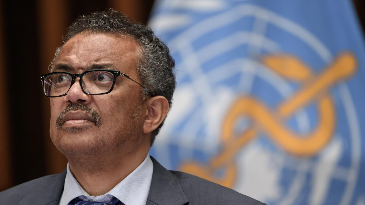 World Health Organisation director general Tedros Adhanom Ghebreyesus says investigators will visit Wuhan in the next stage of the process. Picture: AFP