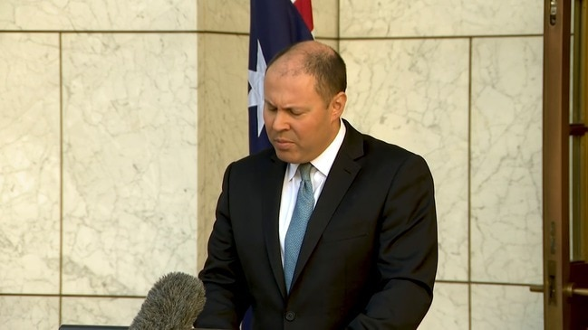 Frydenberg says new $130 billion wage subsidy sees total support reach $320 billion