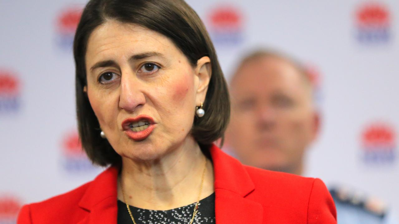 NSW Premier Gladys Berejiklian said some border restrictions will ease by the weekend. Picture: Steven Saphore/NCA NewsWire