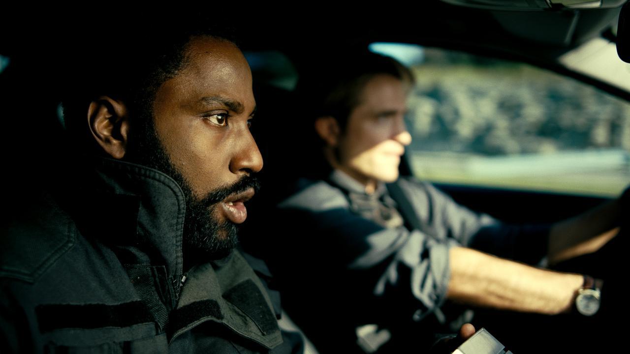 Tenet is directed by Christopher Nolan and stars John David Washington and Robert Pattinson