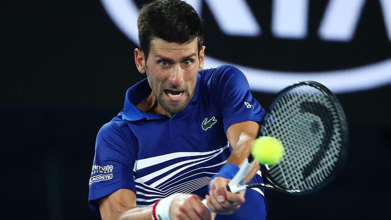 Novak Djokovic faces Kei Nishikori in the Aus Open quarter-finals.