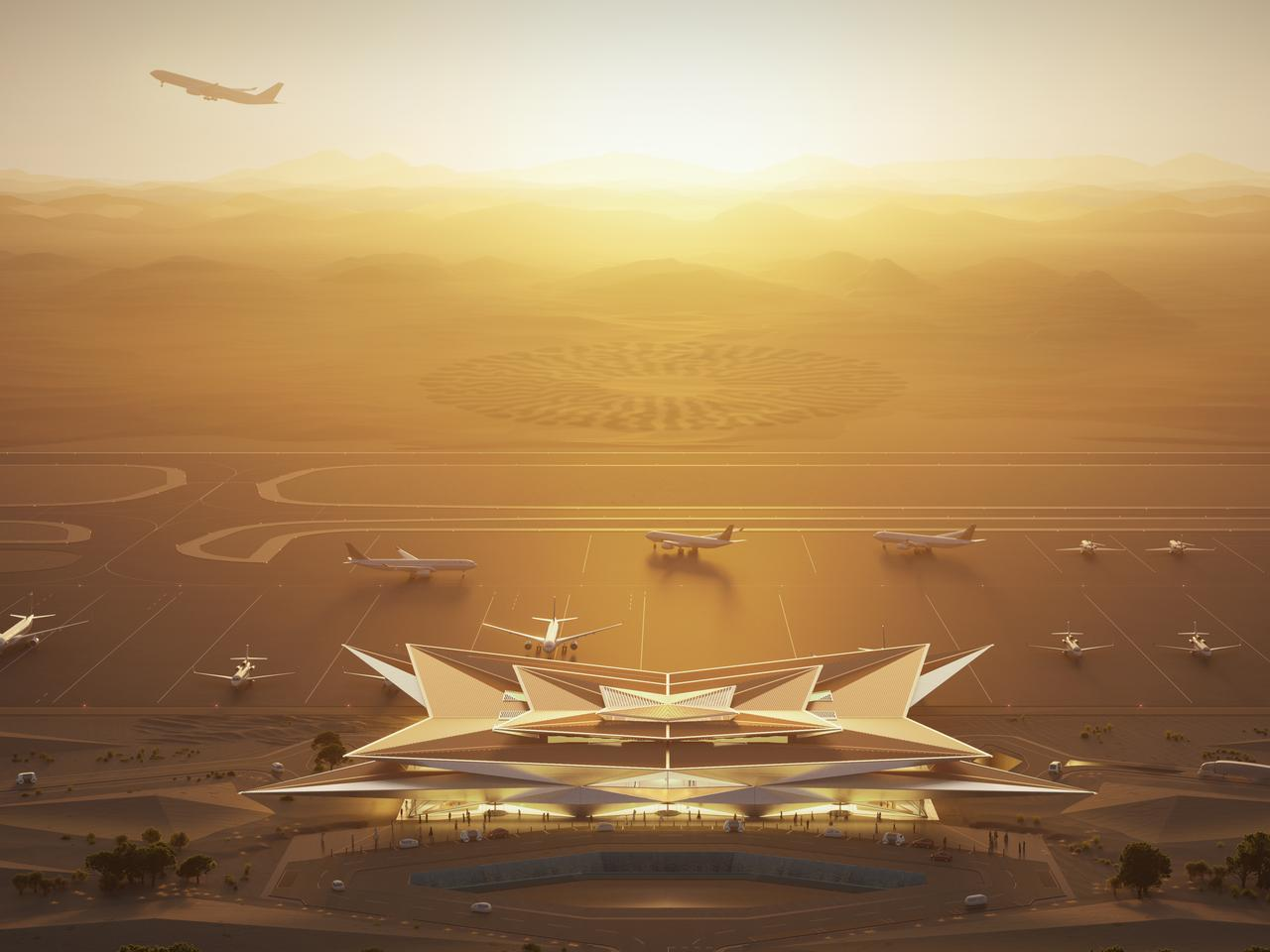 AMAALA international airport, Saudi Arabia.