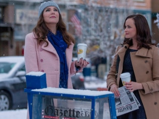 Visit the set of 'Gilmore Girls' this Christmas. Image: Netflix