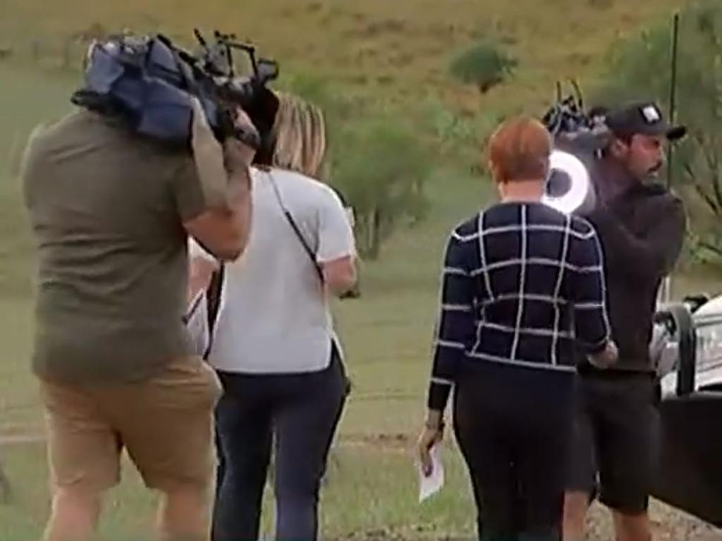 Hanson was sick of answering questions about the NRA. Picture: ABC