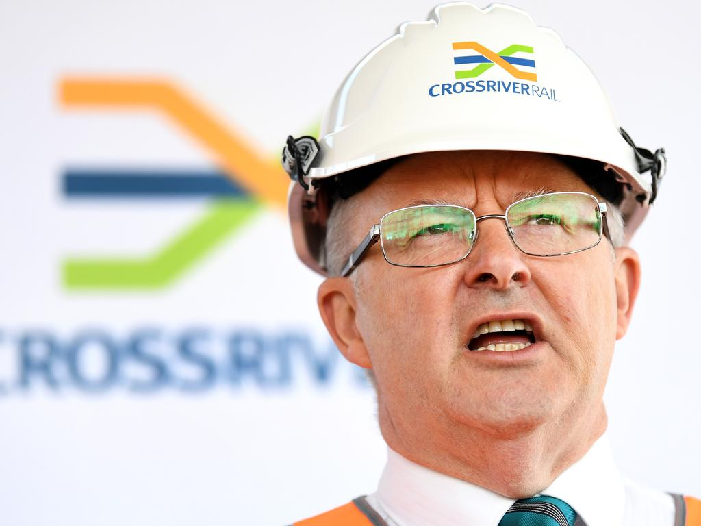 Anthony Albanese unveiled Labor's industrial relations vision in a speech on Wednesday. Picture: NCA NewsWire/Dan Peled