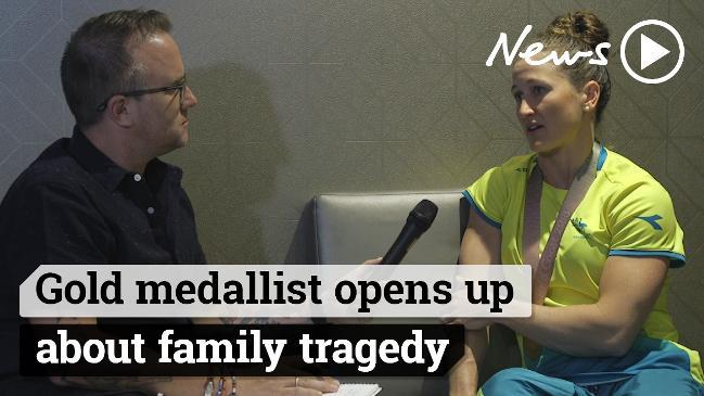 Gold medallist Tia-Clair Toomey opens up about family tragedy