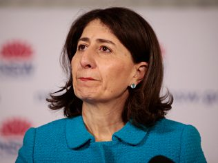 SYDNEY, AUSTRALIA- News Wire photos September 27 2021-  NSW Premier Gladys Berejiklian speaking at the daily press conferences. Picture: NCA NewsWire / Adam Yip