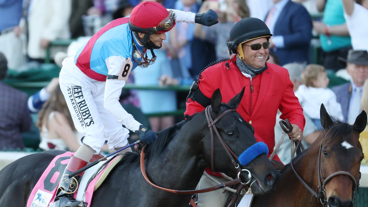 FILE: Kentucky Derby Winner Medina Spirit Tests Positive For Elevated Drug Levels
