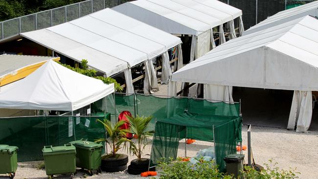 Asylum seekers on Nauru are expected to hold a protest rally on the island to coincide with the court ruling. Picture: Kelly Barnes.