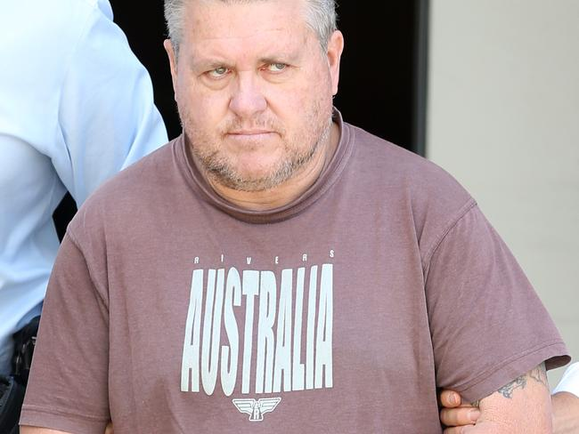 Foster father Rick Thorburn has been charged with the murder of 12-year-old schoolgirl Tiahleigh Palmer. Picture: Jack Tran