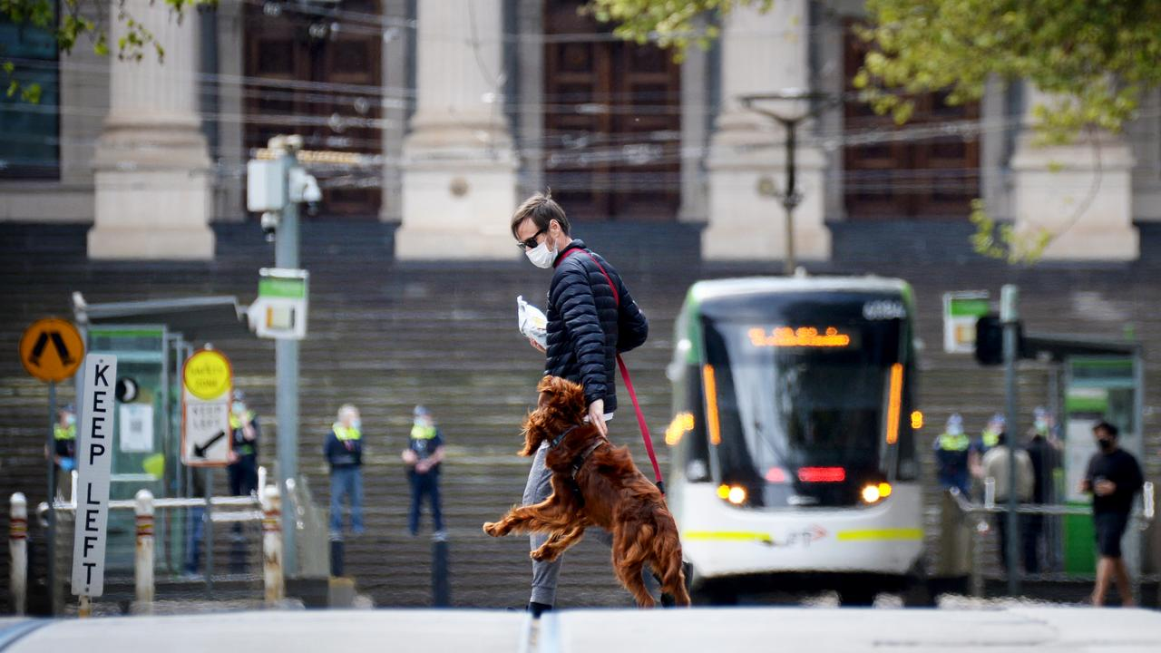 Melbourne has now spent more time in lockdown than any other city in the world. Picture: Andrew Henshaw/NCA NewsWire