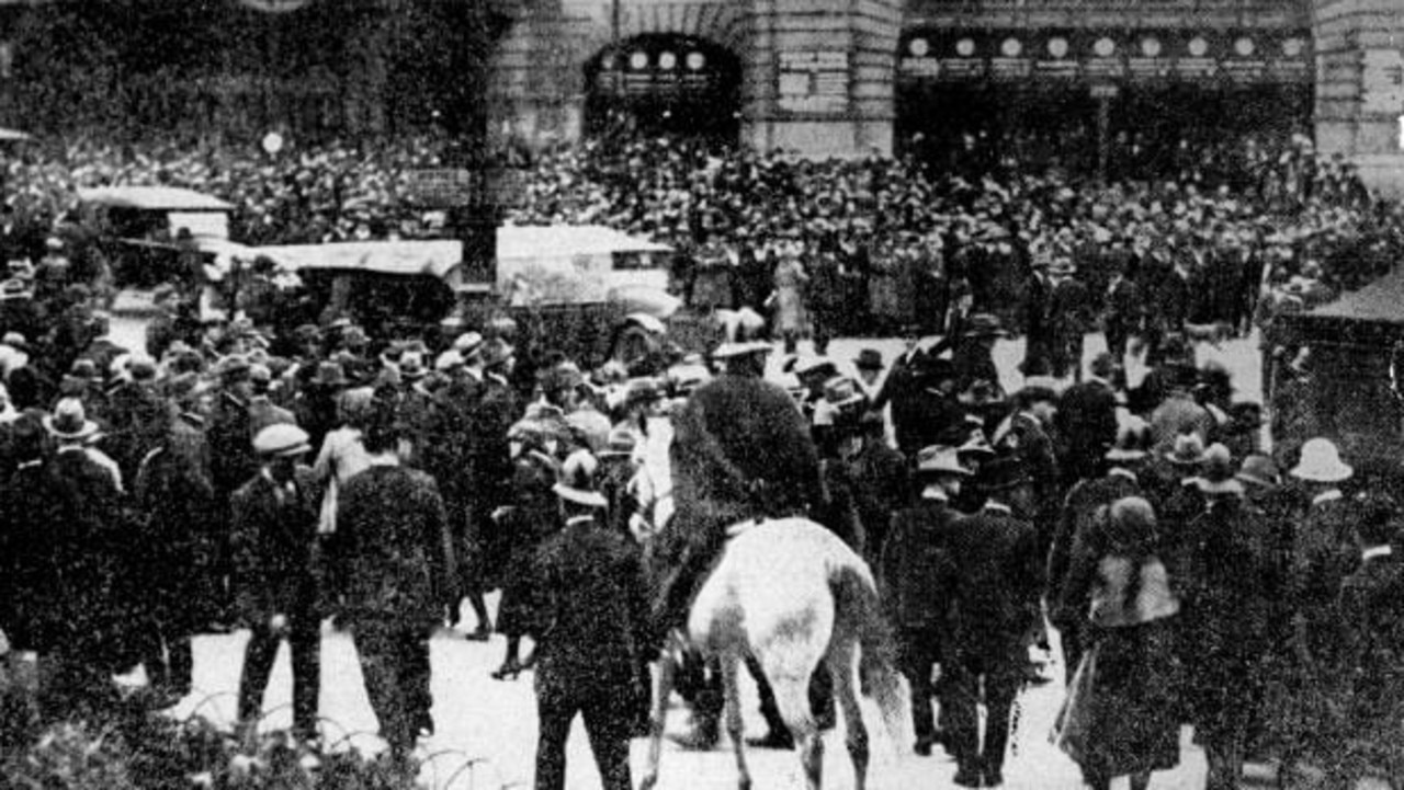 It was a time of great unrest in Melbourne.