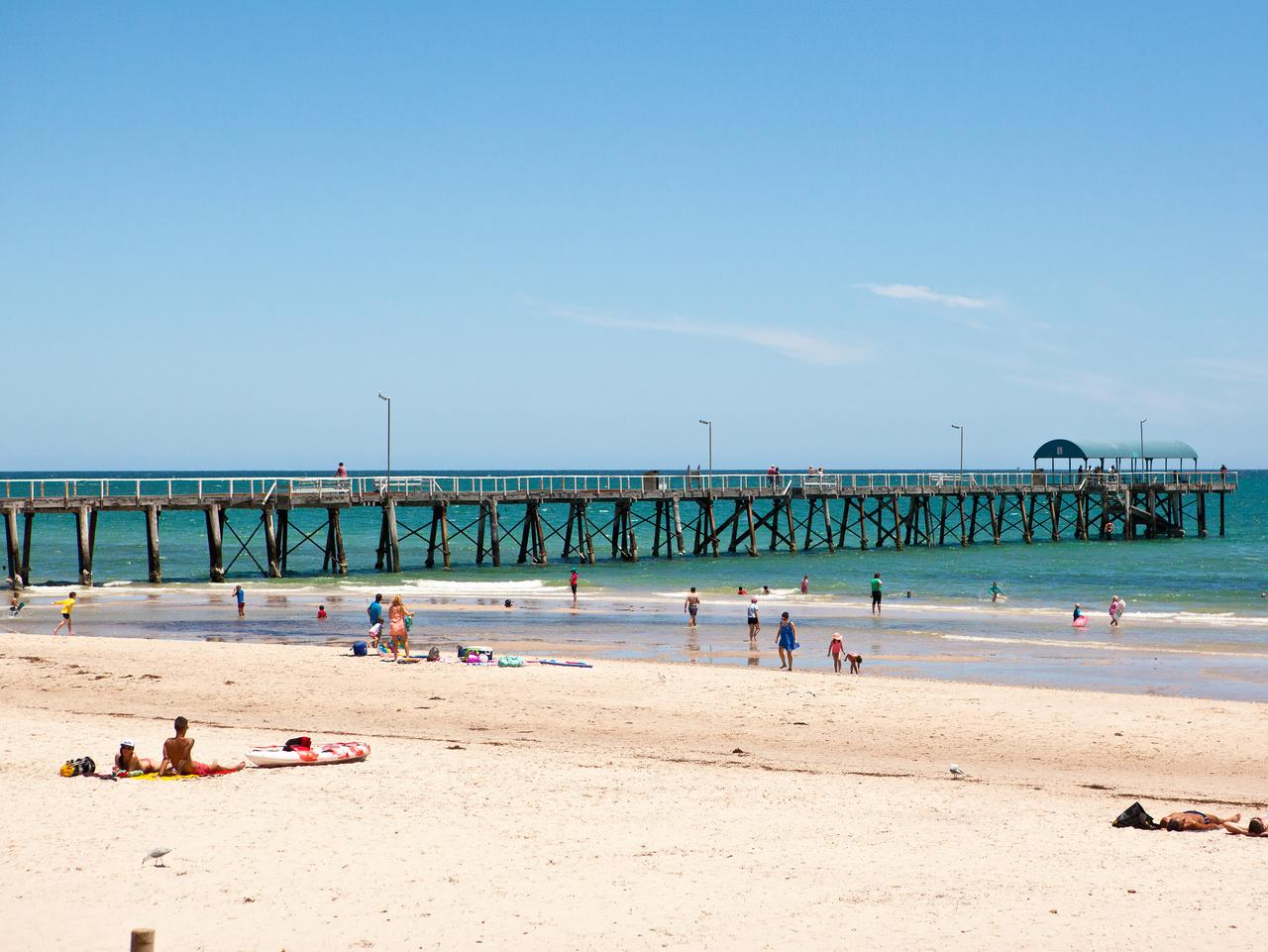 Henley Beach. Picture: Josie Withers / SATC