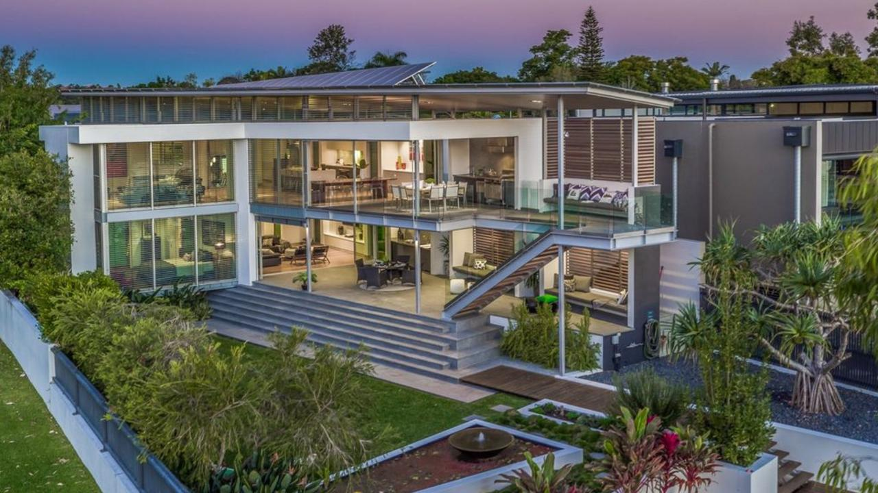 The home at 41 Brisbane Corso, Fairfield, is set to go to auction on Saturday.