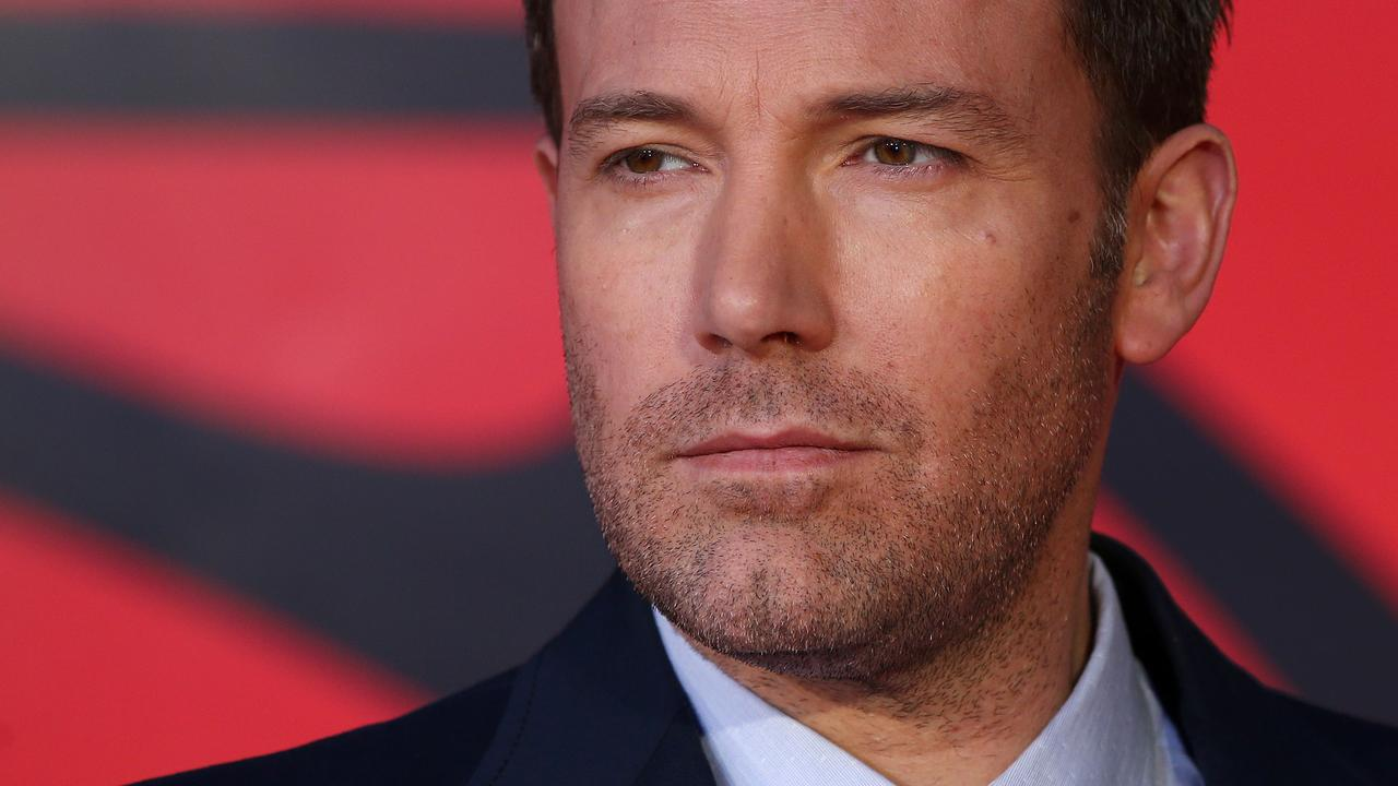 Ben Affleck will return as Batman in the upcoming The Flash film. Picture: AFP.