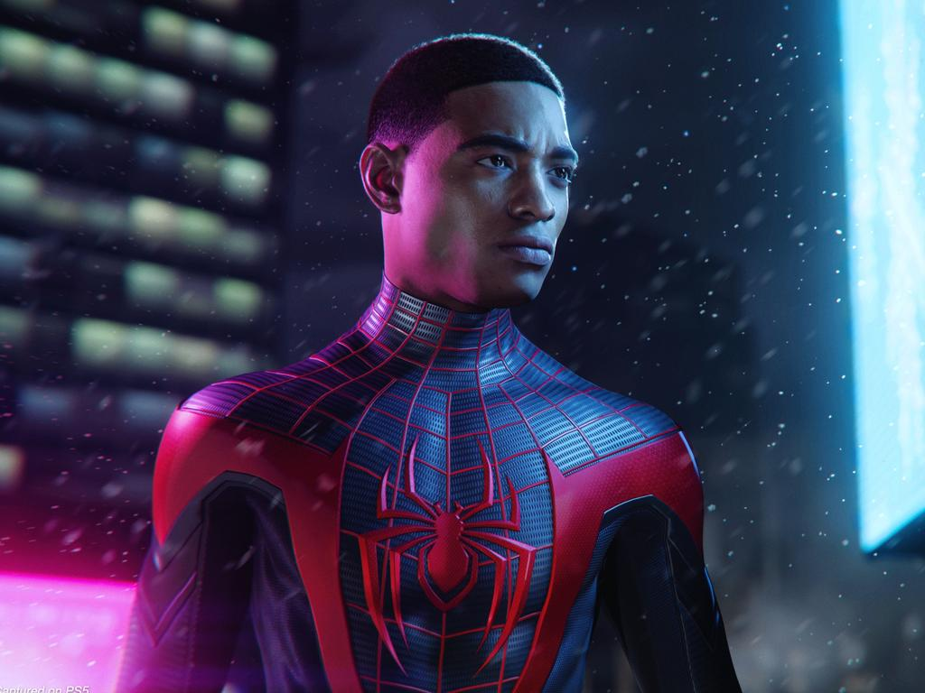 Spider-Man: Miles Morales is one of several day-one launch titles for Sony's PlayStation 5 games console.