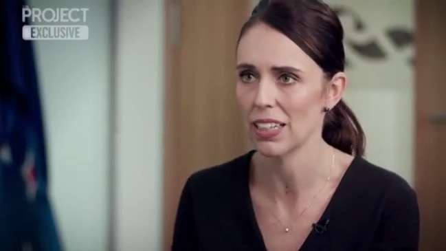 Jacinda Ardern on The Project