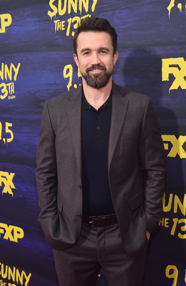 McElhenney at the new season premiere for It's Always Sunny In Philadelphia earlier this month. Picture: Getty