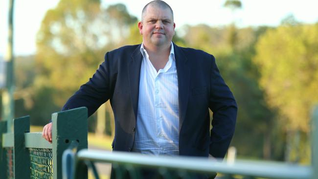 Nathan Tinkler near his home in Pullenvale, Brisbane in 2016.