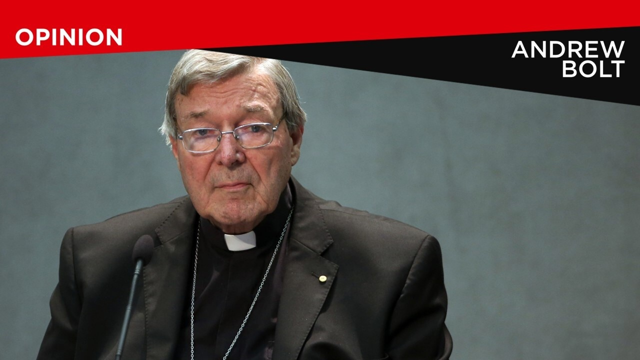 Andrew Bolt in defence of Pell: 'I have serious misgivings'