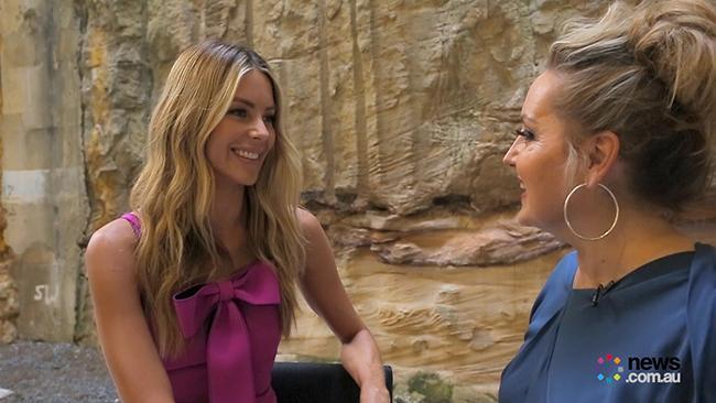 Jen Hawkins sits down with Melissa Hoyer ahead of tonight's Myer launch