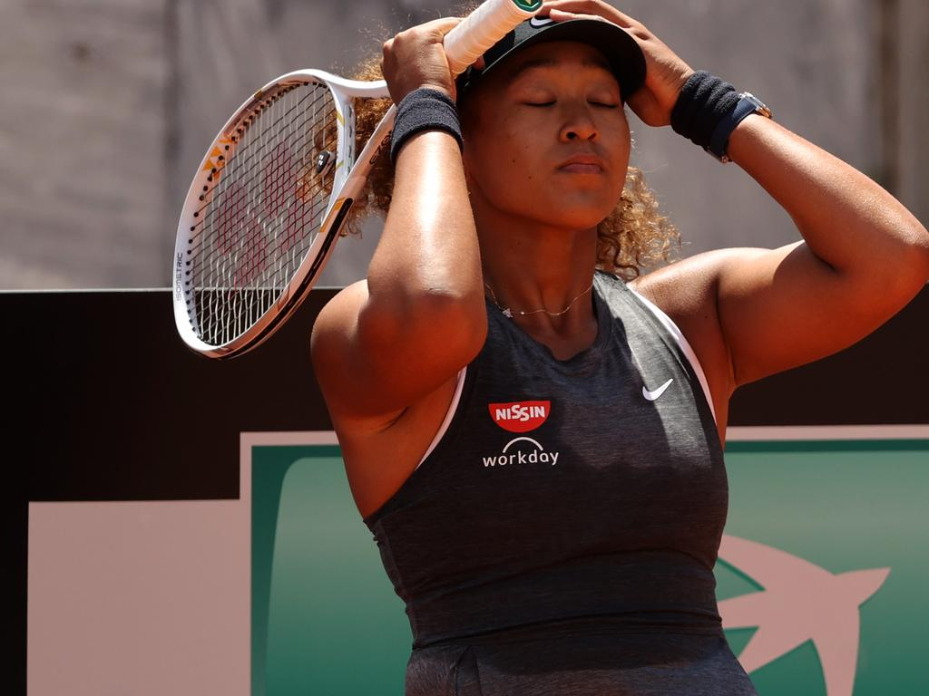 Osaka isn't in the right headspace to compete in a Grand Slam.