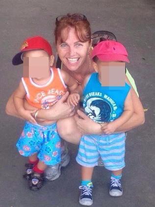 She has not seen twin sons since arrest.