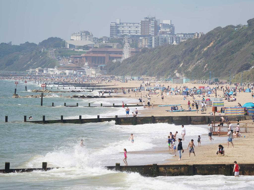 A teenage girl was raped in the ocean just metres away from a packed beach. Picture: Getty