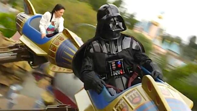 Vader does Disney