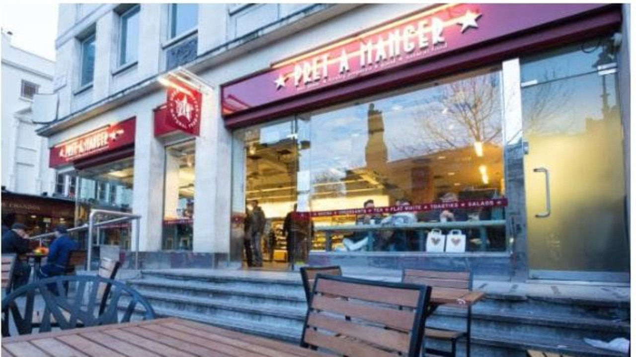 """Pret a Manger said it was """"deeply saddened"""" to hear of the death."""
